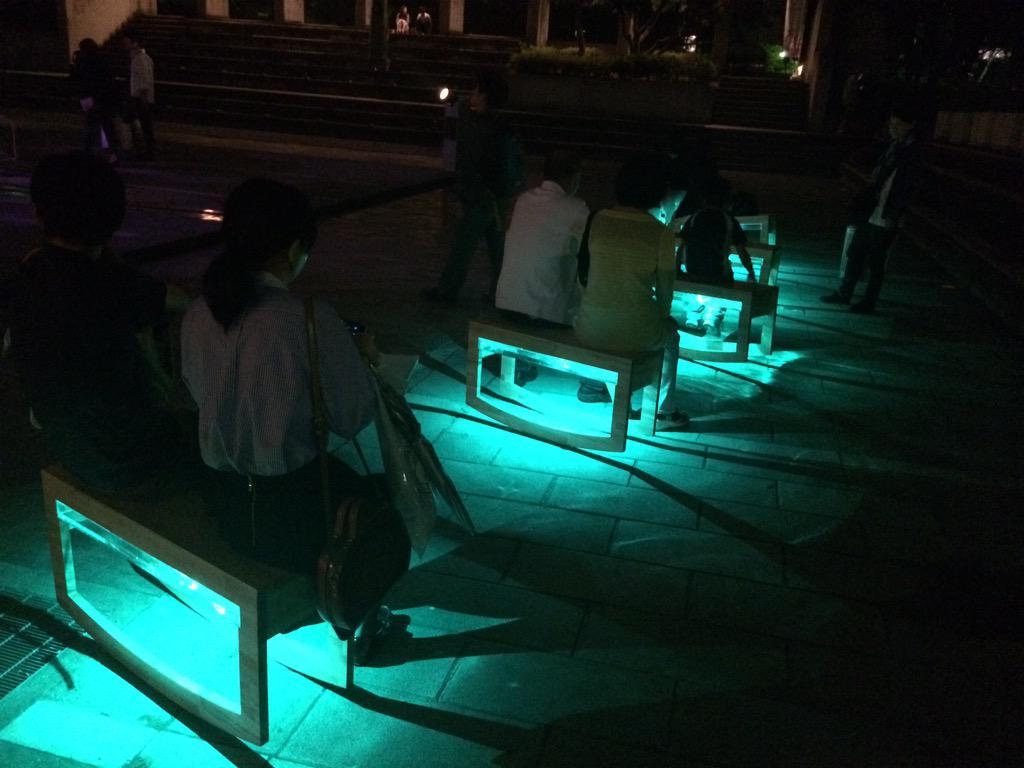 神戸ビエンナーレ開幕しました!ゼロバイゼロは東遊園地で展示中です! http://t.co/iEPdI3Lc7A http://t.co/ooz45YbHKV