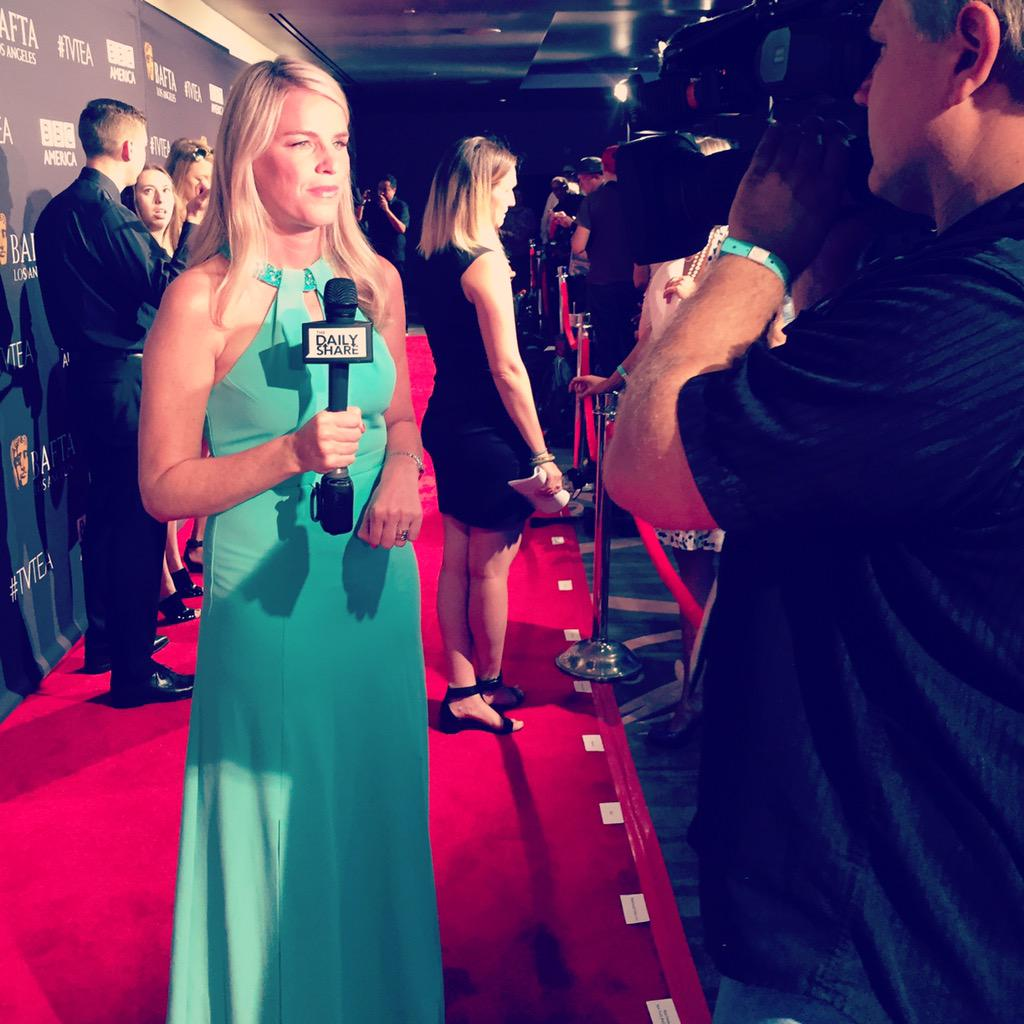 We're at the #BAFTA teaparty #tvtea and @TheDailyShare @HLNTV will #askhermore #Emmy #emmy2015 http://t.co/Sw4J1evBB2