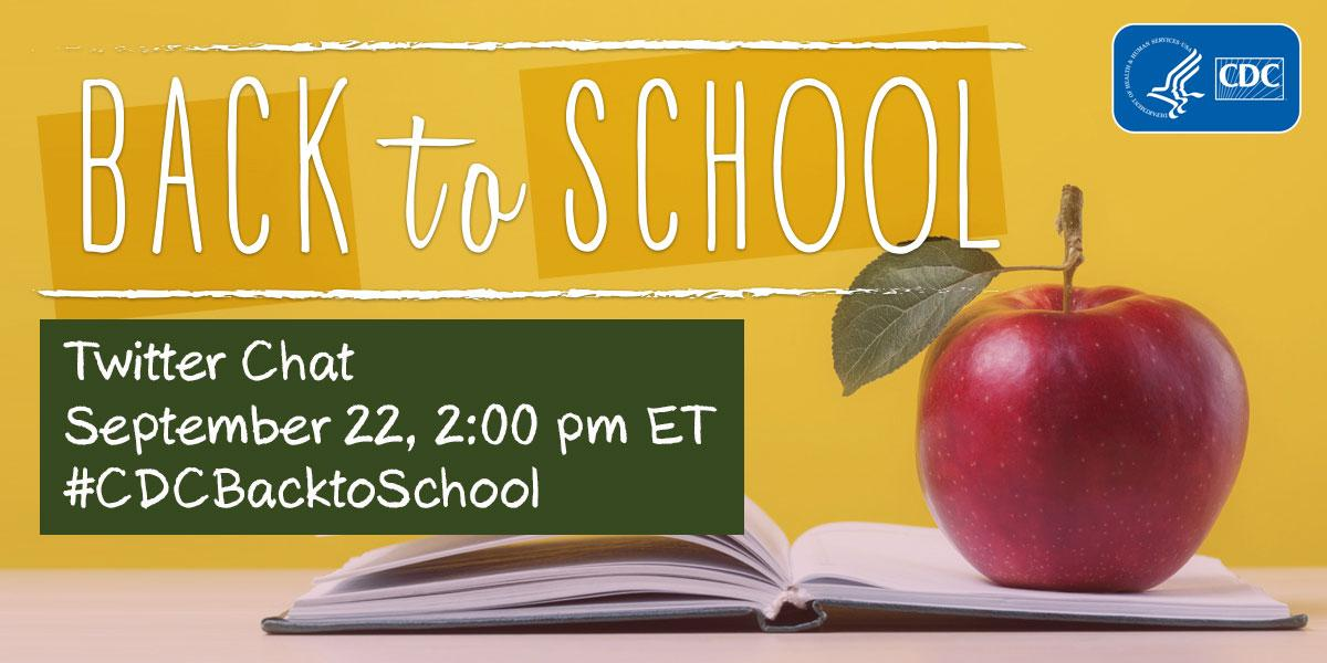 Thumbnail for #CDCBacktoSchool Twitter Chat 2015