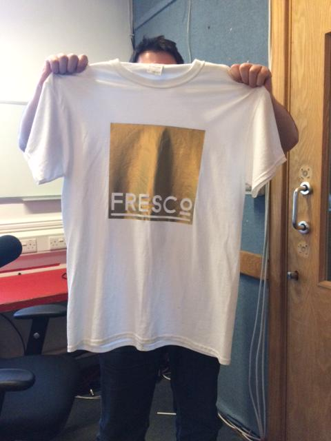 **TSHIRT GIVEAWAY** Retweet to win a @justwearfresco tee. Find them in @thecornexchange - http://t.co/mspTC8qbou http://t.co/sDTx2da64E