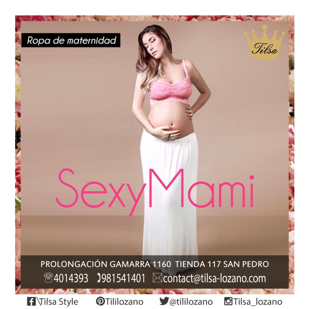 Tilsa Lozano on Twitter \u0026quot;Ya estoy en Gamarra con mi colección para embarazadas SexyMami llegaron los primeros modelos y cada semana hay más
