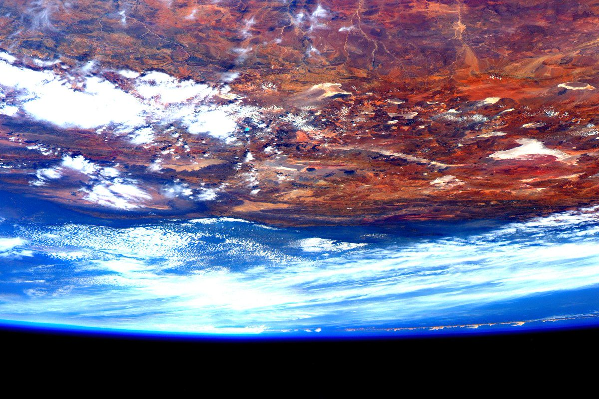 Scott Kelly nos muestra estas imagenes desde el espacio