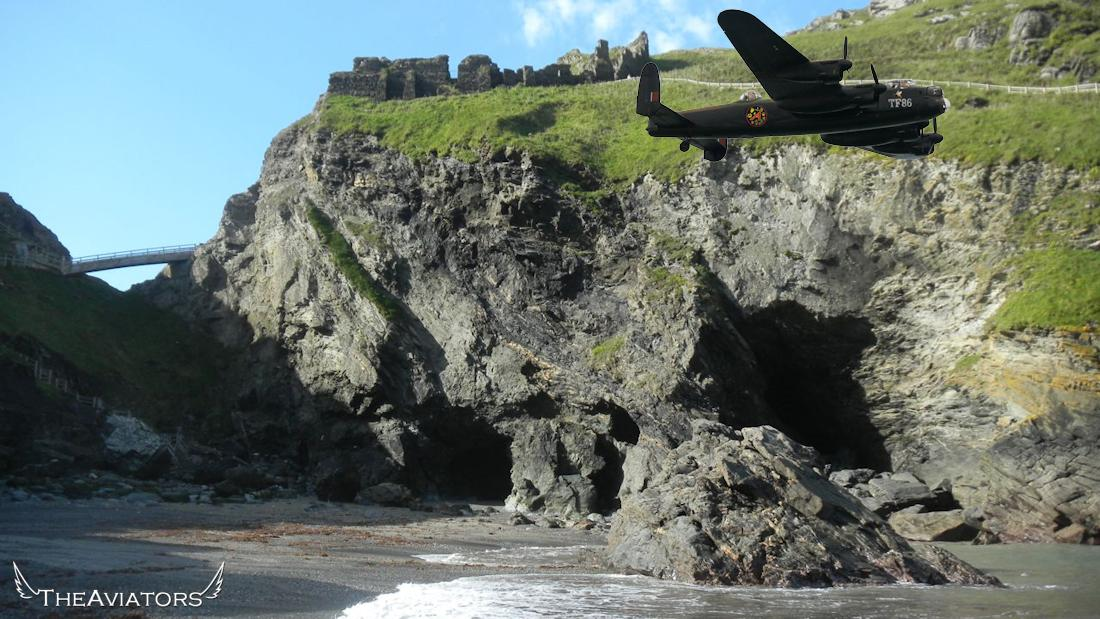 Cornwall has a long association with the Legend of King Arthur... Merlin's cave is at Tintagel. #TheAviators http://t.co/OCejPQ9aSc