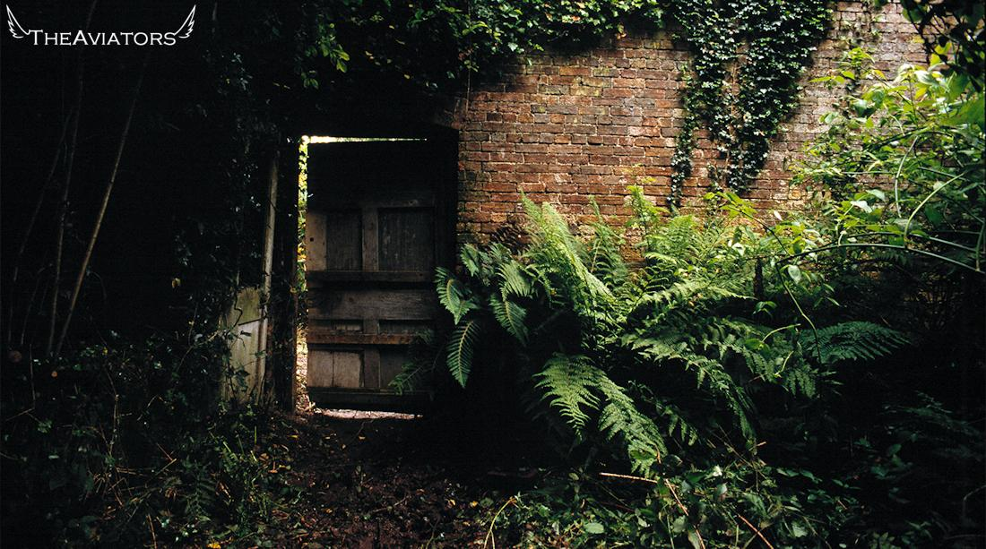 The lost garden was found again after a hidden door in an overgrown wall was discovered. #TheAviators http://t.co/PjAIC7566j