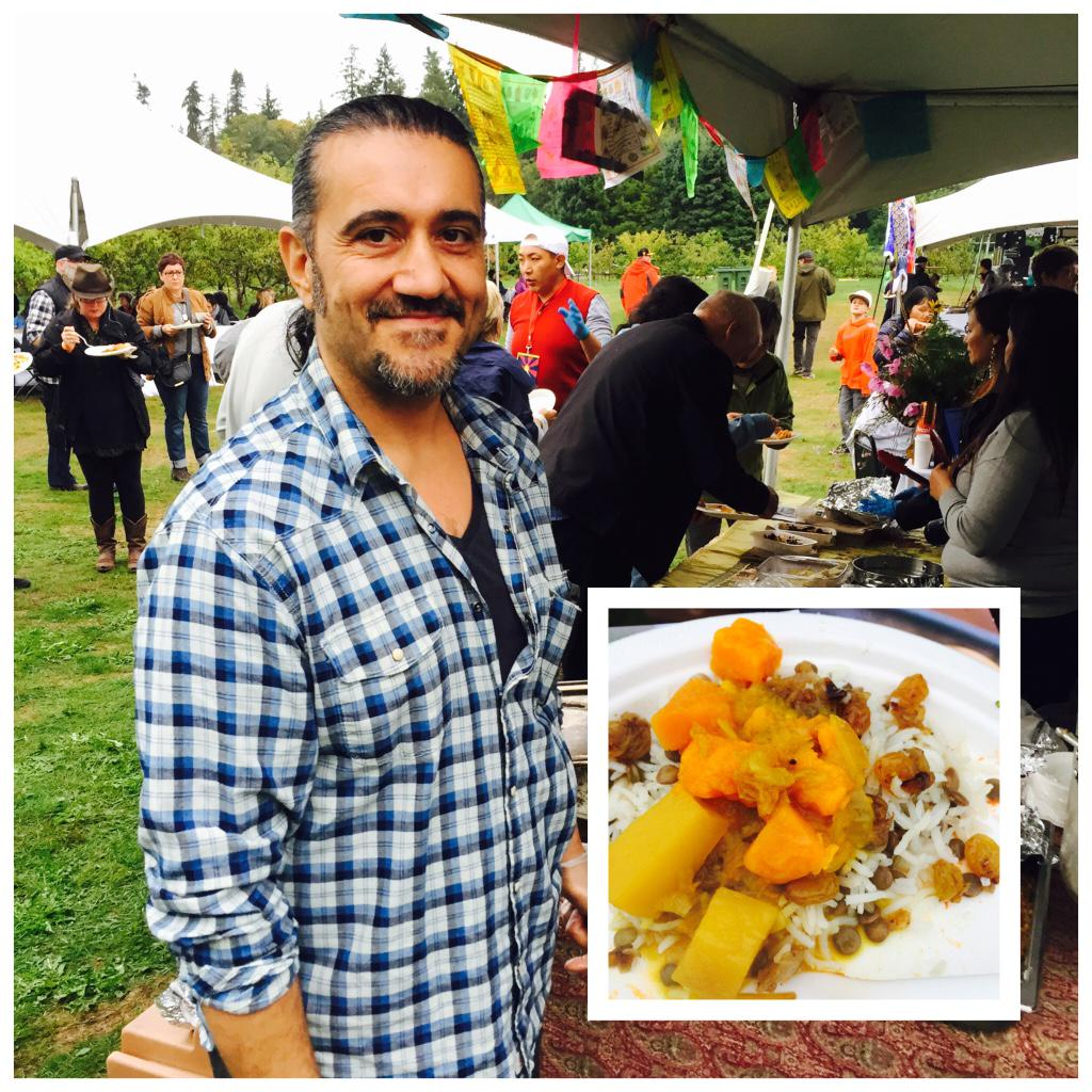 Adass Polo (lentil rice) @ubcfarm by Ahmad Nakheai (Iran) #joyoffeeding love this dish! http://t.co/VLX50tzWvg