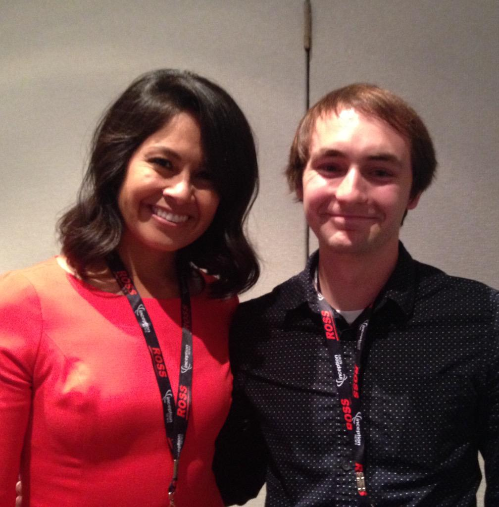 Had the opportunity to meet my hometown @ABC7Chicago anchor @StaceyBacaABC7 at the #EIJ15 conference today! http://t.co/3IWL2EL3YS