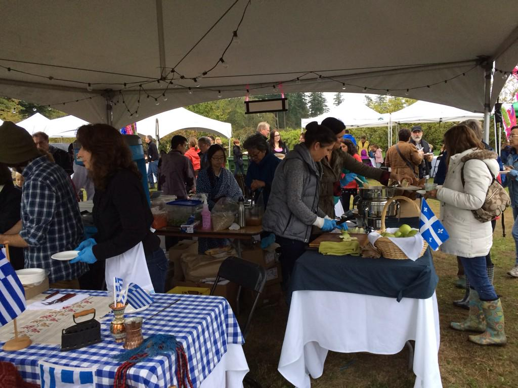 The rain turned off just in time for #JoyofFeeding @ubcfarm http://t.co/m03OgCZ44J