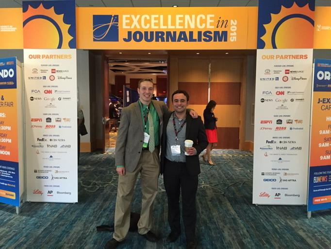 It was wonderful to catch up with my mentor and friend @BrandonWNCT at #EIJ15 http://t.co/JV8cdt1bR8