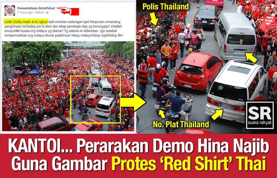 LOL... UMNO macais certainly are champions of deception... Hidup Thailand! http://t.co/4NmOBNfqeP