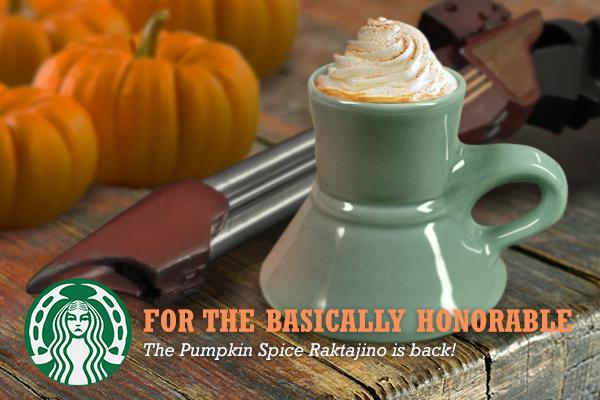 It's that time of year again. #pumpkinspiceisawarriorsdrink http://t.co/337Nssg0U1