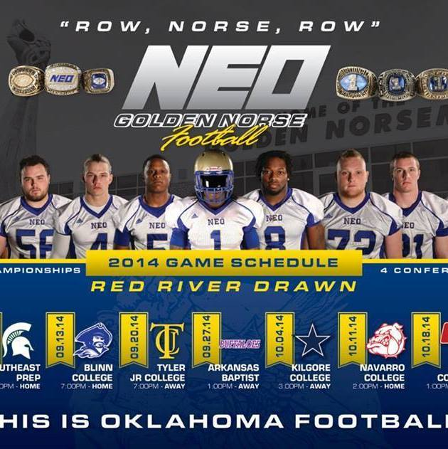 "Neo Oklahoma: JuCo Football Forer On Twitter: ""Northeastern Oklahoma A&M"