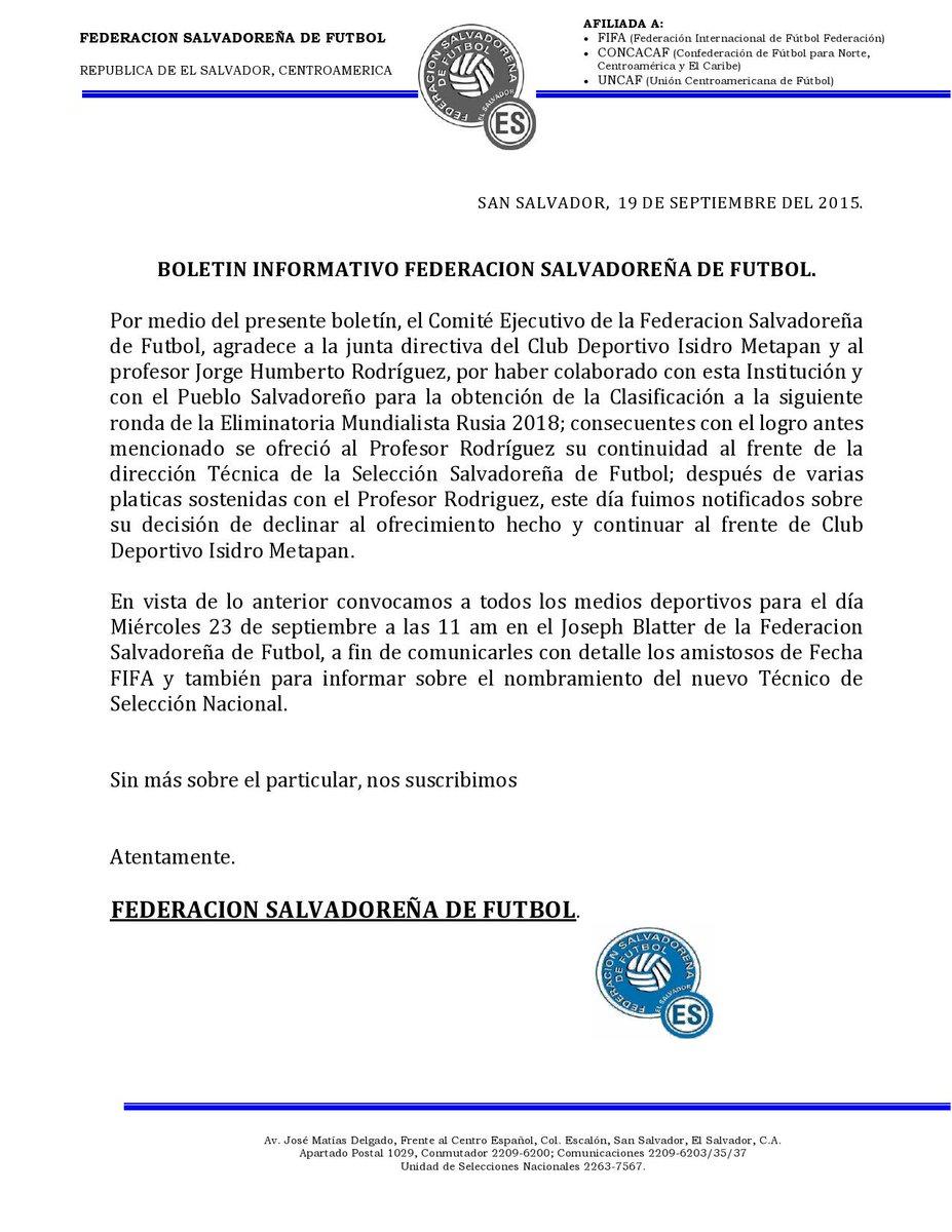 """Jorge """"Zarco"""" Rodriguez a espera de acuerdo entre FESFUT y A.D. Isidro Metapan para Seguir en La Seleccion Nacional.[""""Zarco"""" Rodriguez no acepto contrato de FESFUT] CPUptGnUwAE6SYk"""
