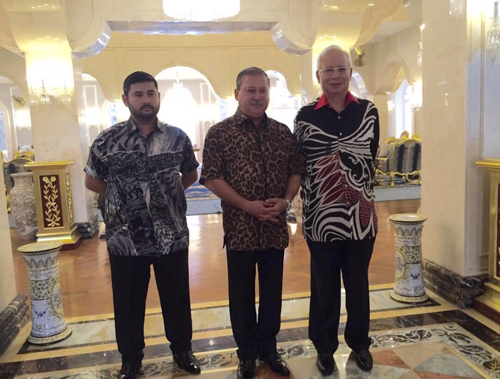 Najib menghadap Sultan Johor