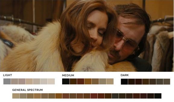 цветовых схем в кино.