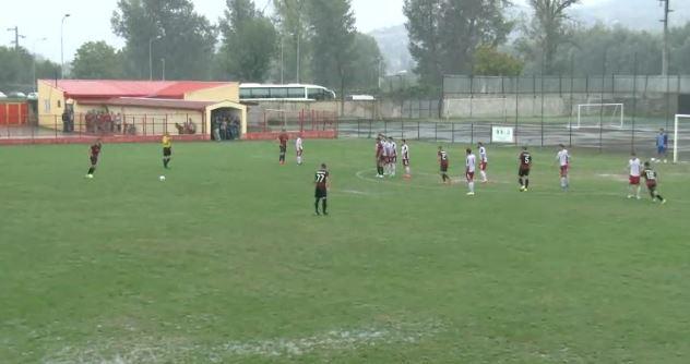 The free kick goal by Hasani