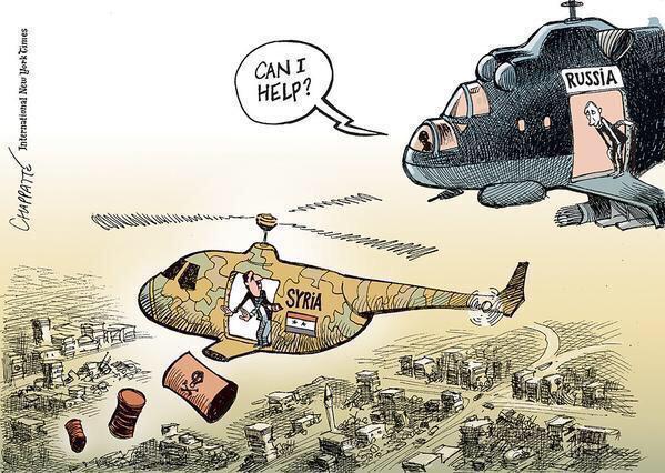 """Меркель: РФ должна убедить Асада """"прекратить сбрасывать бочковые бомбы на людей"""" - Цензор.НЕТ 5849"""
