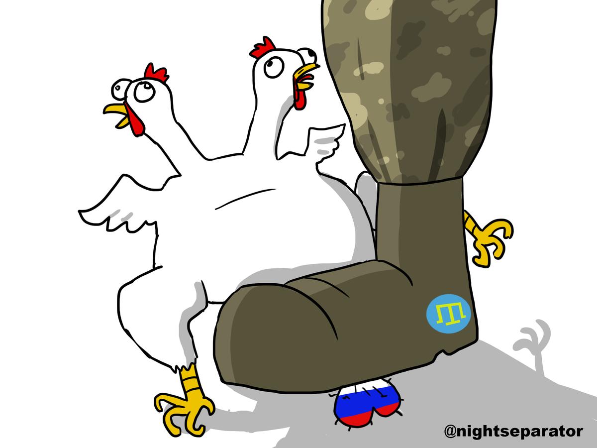 Ситуация на въезде в оккупированный Крым спокойная и контролируемая, - МВД - Цензор.НЕТ 9177