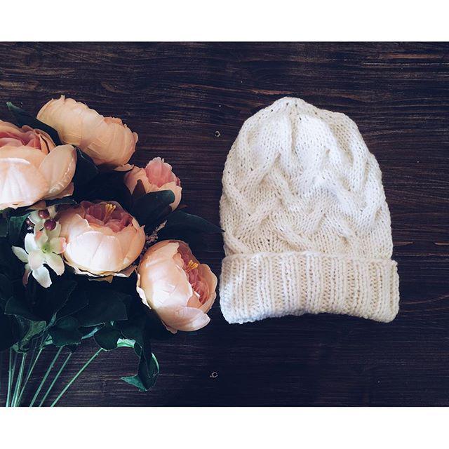 вязанные шапочки для новорожденных от светланы берсановой
