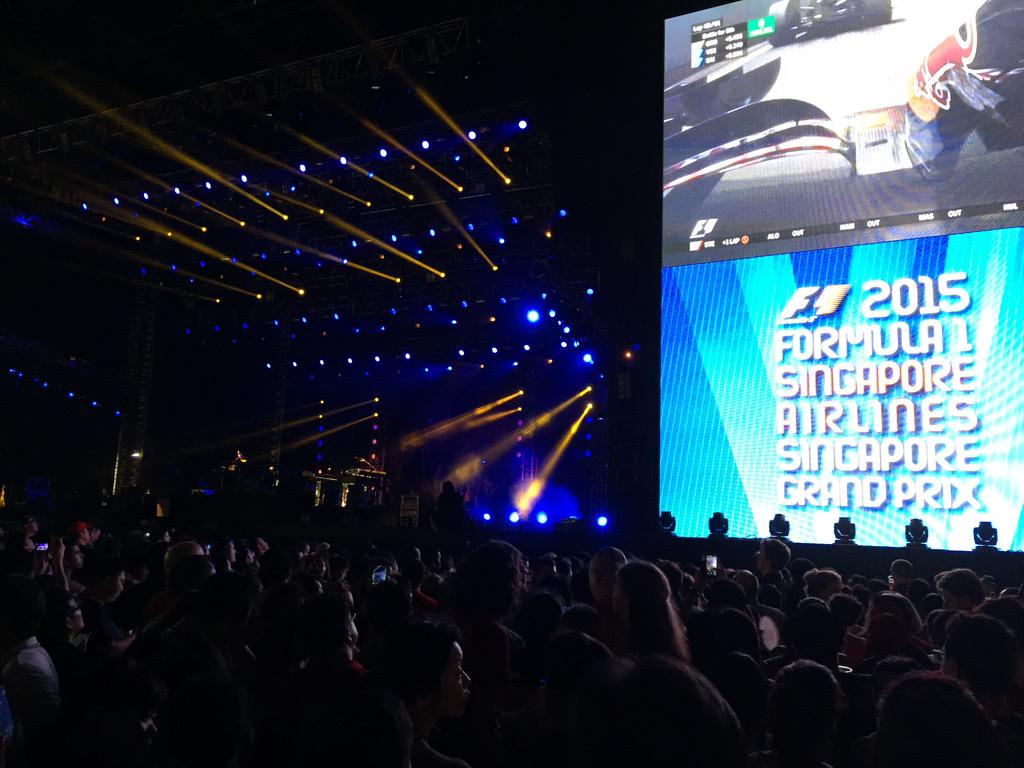 Waiting for Bon Jovi show to start at Sg Grand Prix http://t.co/l5CdeJWlkZ