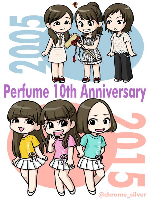 Perfumeメジャーデビュー10周年おめでとうございます! 大好きだーーーー!!!!!!!!!! http://t.co/bIbZnRx8Nd