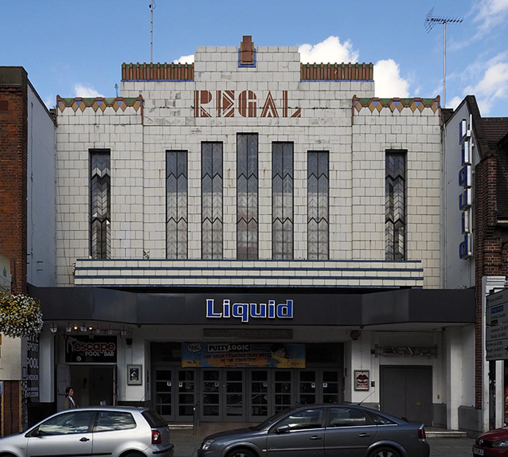 The Regal, Uxbridge. By E N Bailey, 1931. Retains original fenestration, & faience facade with excellent lettering http://t.co/pgZVxJ10N1