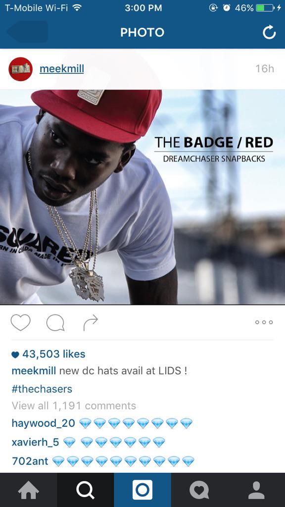 What a time to be Meek Mill http://t.co/GR2ZUHo2Ou