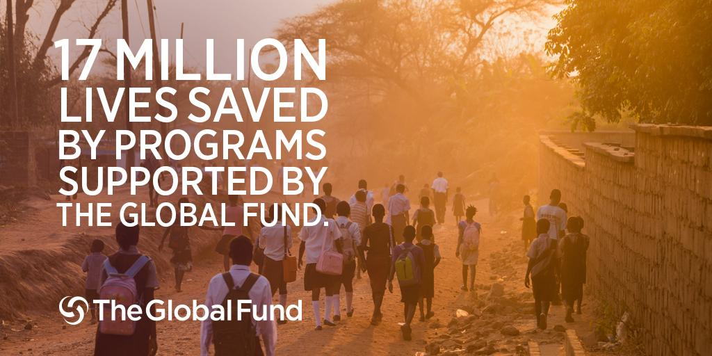 Our results show 17M lives saved from #AIDS, #TB & #malaria thru the @GlobalFund partnership! http://t.co/e7RMEHIqtS http://t.co/WNKhKpbgf3