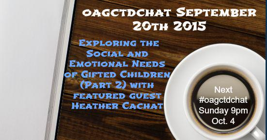 Thumbnail for September 20, 2015: Exploring the Social and Emotional Needs of Gifted Children (Part 2)