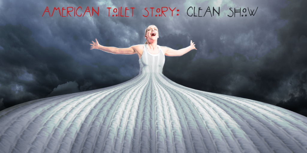 We're all about being freaky clean! RT if you want American Horror Story to win! #GoCommando #Emmys http://t.co/UockirklBT