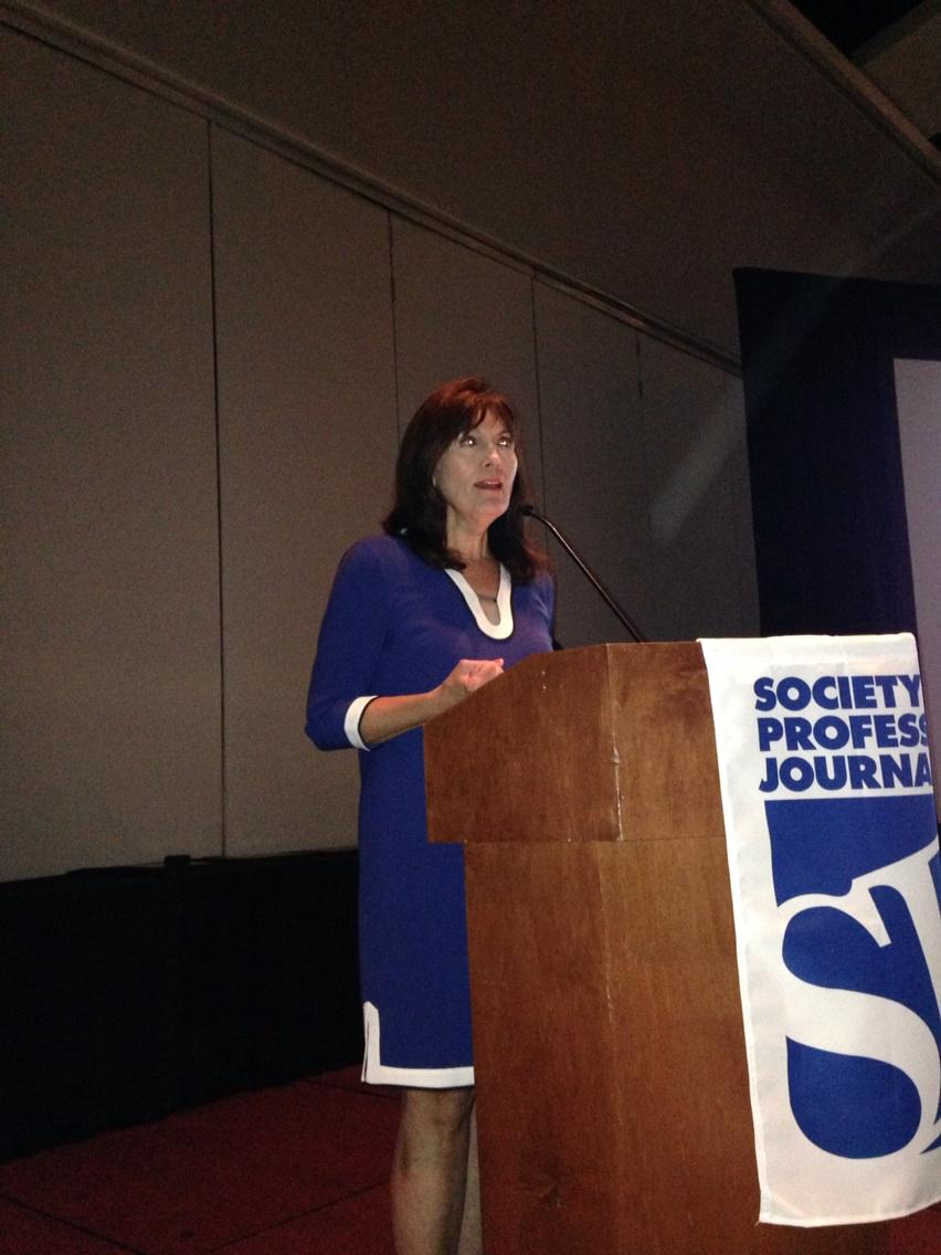 So proud of Sue Porter, winner of the top award from the Society of Professional Journalists, at #EIJ15. http://t.co/QnNdxuMEPW