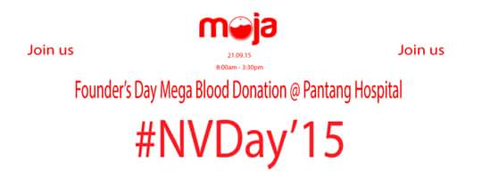Join Moja National Volunteer Day Mega Blood Donation @ Pantang Hospital. #NVDay15 @mojaApp @NBSGhana @volunteeringh http://t.co/quJEpW6y70