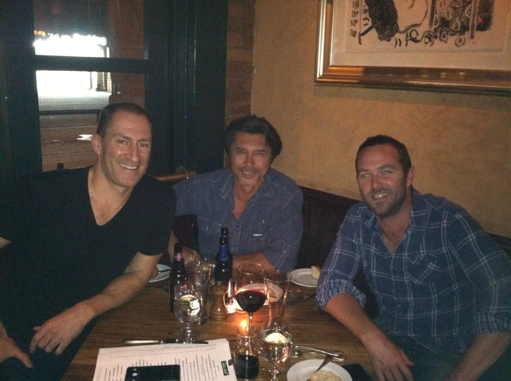 Hanging With Ruggedly Handsome Men