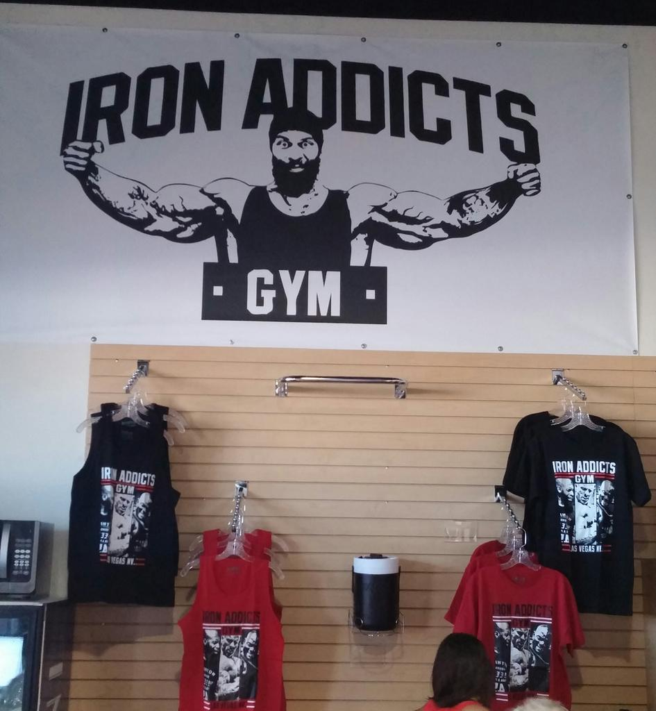 Iron addicts gym location las vegas zen