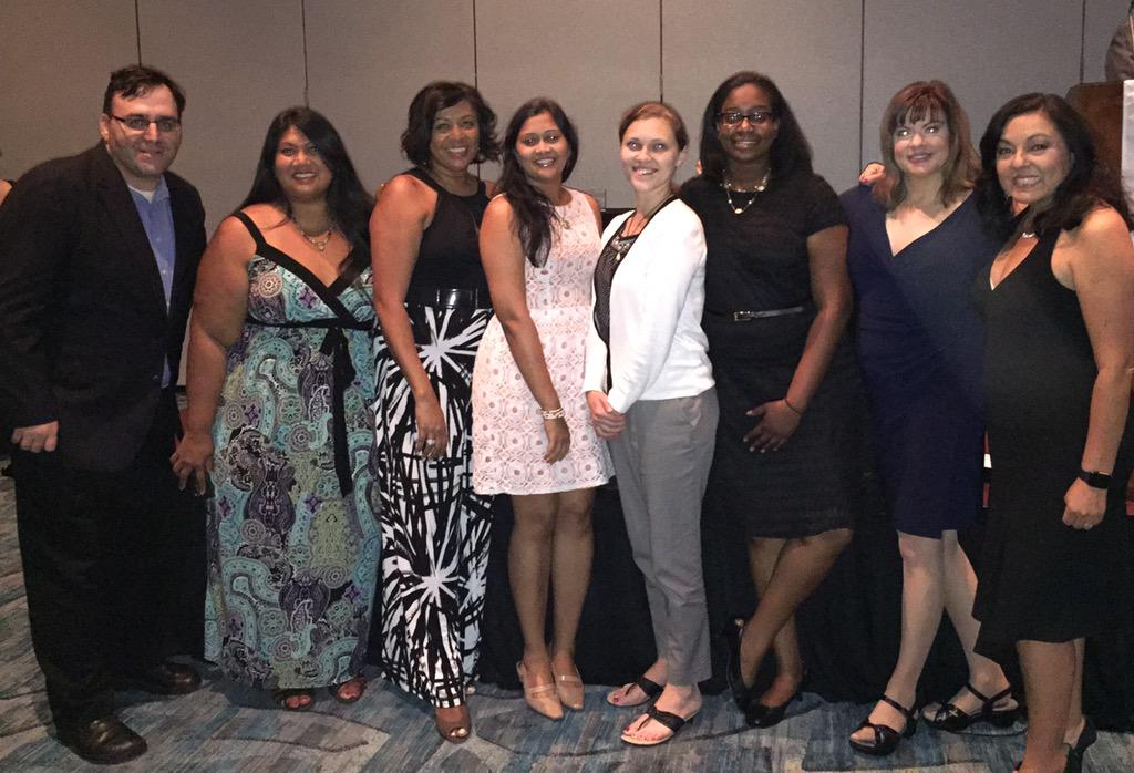 @AprilBethea & I with SPJ Diversity fellows @SPJDiversityNow @spj_tweets #EIJ15 http://t.co/uxjY2HKJQO