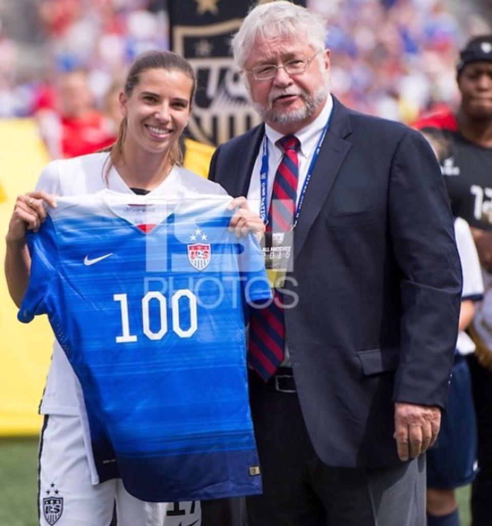 Tobin Heath On Twitter Thanks To Everyone For The 100th Cap Shout