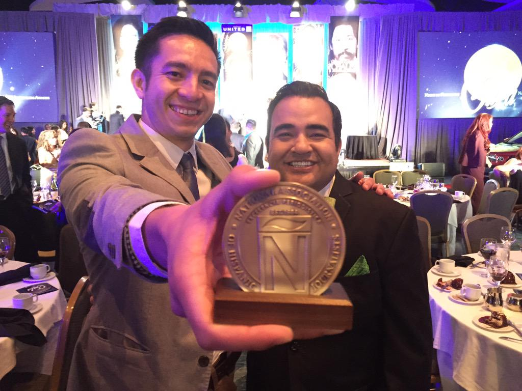 Congrats to @aflores on the @nahj win! #EIJ15 http://t.co/DkY4V0kXze