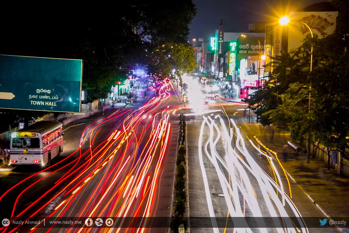 #WhyWeLoveColombo is coz driving in a straight line is too mainstream! Here is proof, taken a year ago over Maradana http://t.co/LOOCcTzKBl