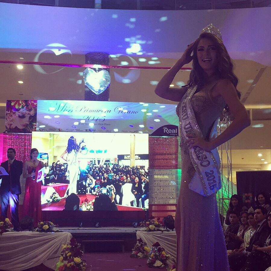 LAURA SPOYA para la elección de miss Juliaca 2015 CPZuGDsWoAAEJfi