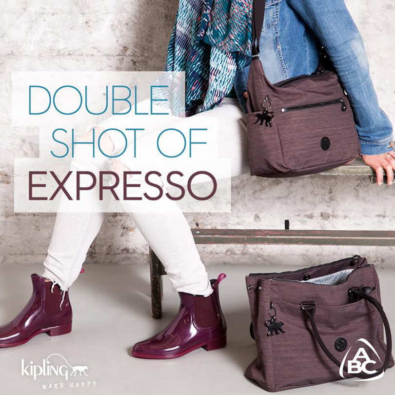 All you need is love and a new bag! Discover #Kipling's dazzling Fall collection now available at #ABCLebanon. http://t.co/TlzL7SSOb3