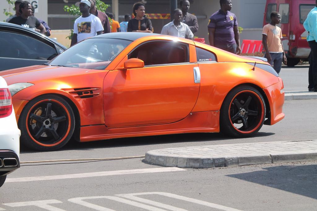 Scenes from the Accra Auto Show