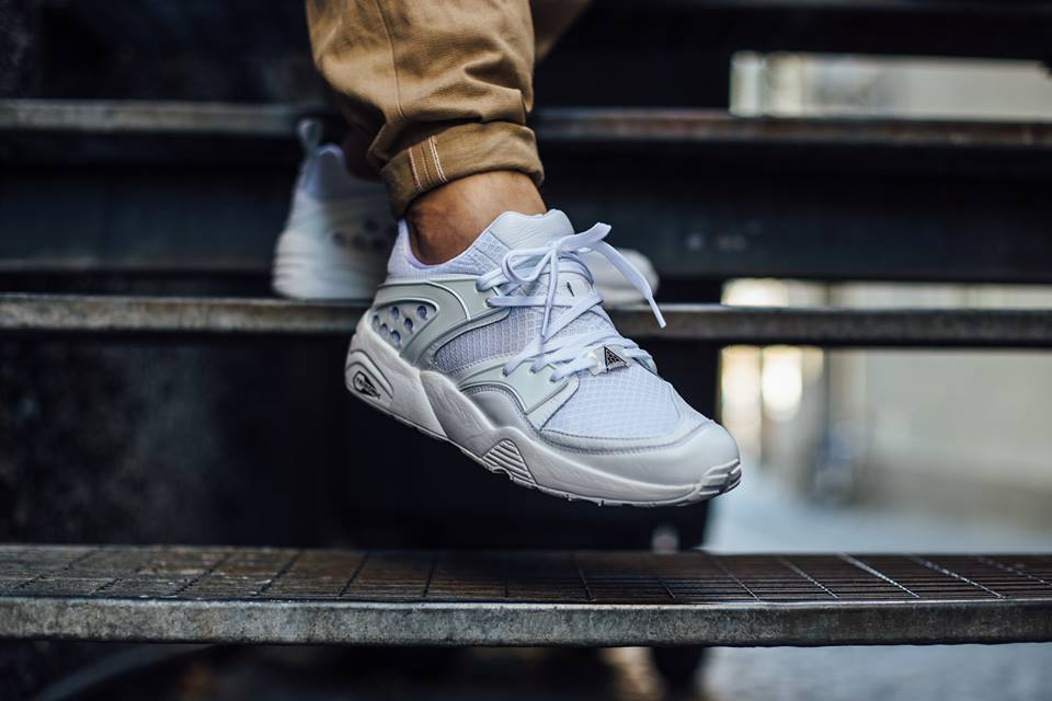 brand new 0d6c7 11e02 On foot look at the Puma Blaze Of Glory Yin Yang Pack White.