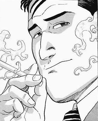 グルメ 孤独 タバコ の