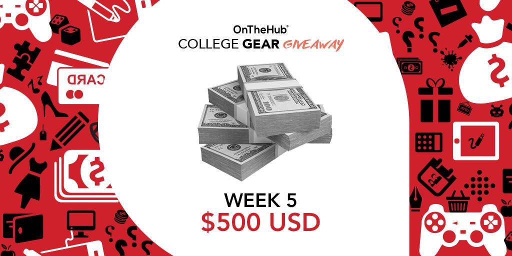 Hey students! Wanna win $500 in sweet, sweet cash? Enter our #CollegeGearGiveaway! http://t.co/XVvG0rU0MQ http://t.co/iFxENSQflW