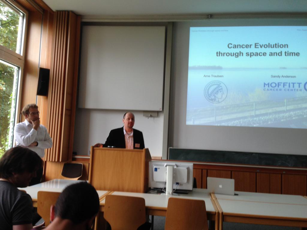 Here we go! #CEST15 looking forward to a great week of #cancer #evolution discussion and collaboration http://t.co/6Fr1mSZMob