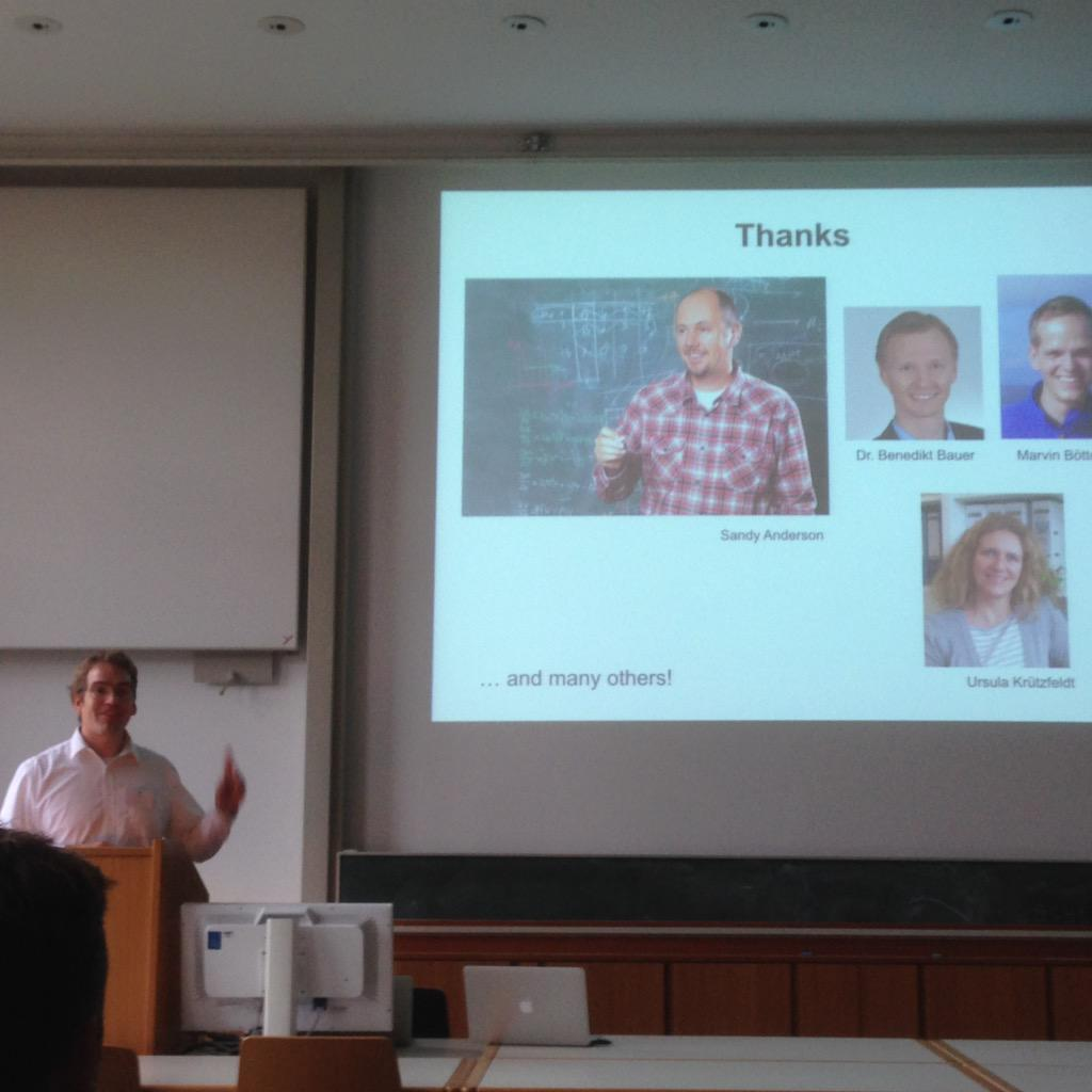 Starting from acknowledgement, cancer evolution through space and time #CEST15 http://t.co/CANHFd8fCn