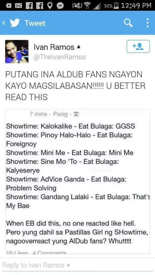 eat bulaga problem solving ginaya ng showtime