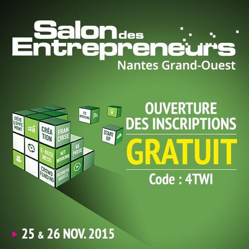 Oec pays de loire oecpaysdeloire twitter - Salon des entrepreneurs nantes ...