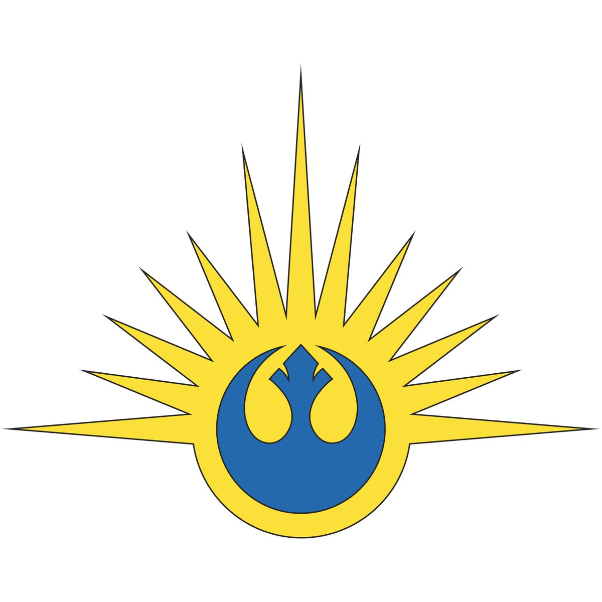 Star wars books on twitter curious about the early new - Republic star wars logo ...