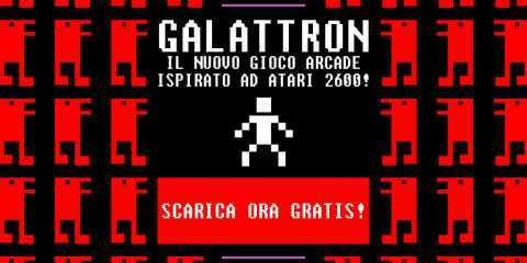 GALATTRON, il nuovo gioco VINTAGE in autentico stile ARCADE