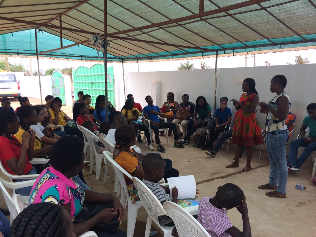 Volunteers sharing their stories and how they overcome their challenges #NVDay15 #ReadToAChild @WhatAWomanOrg http://t.co/HNYC8B4Hlq